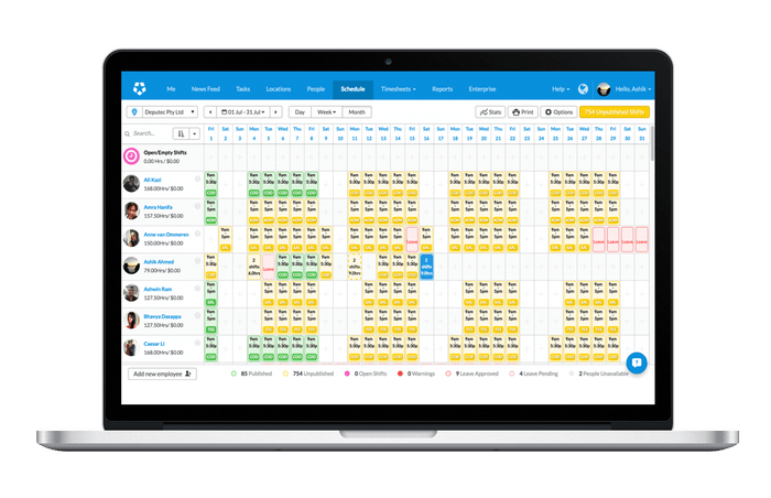 deputy task management scheduling