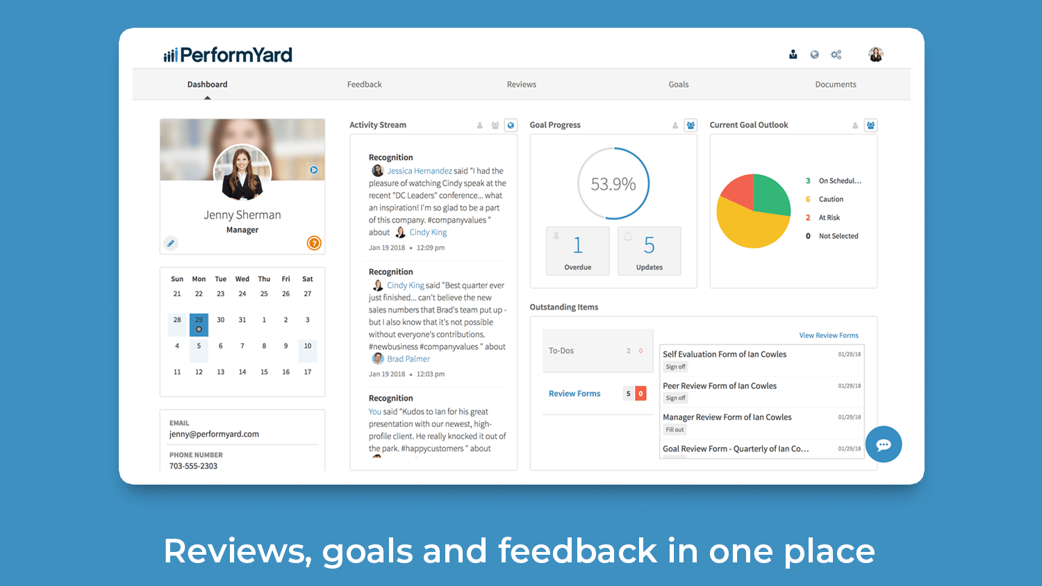 PerformYard_Dashboard