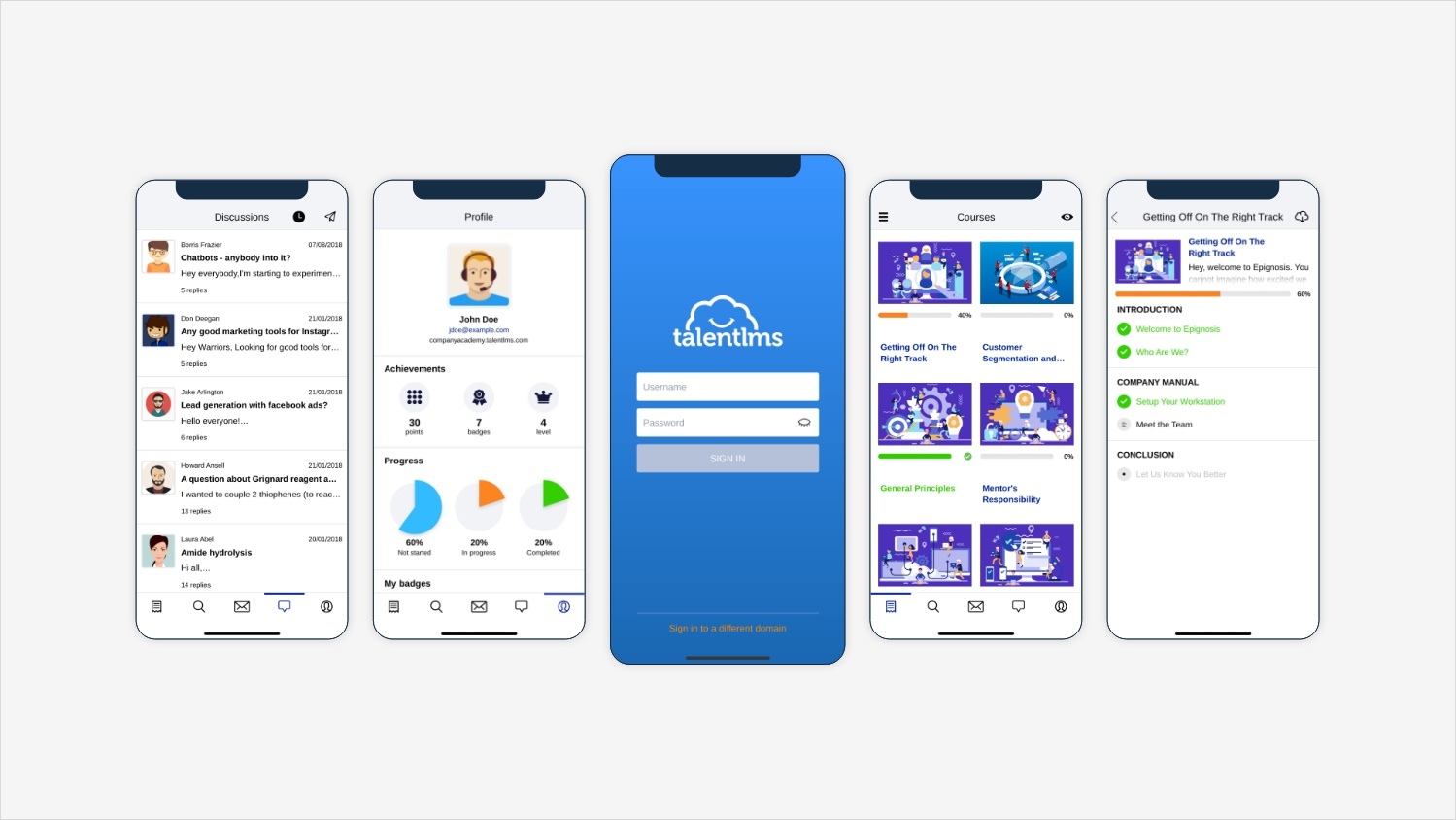 TalentLMS_Mobile_View