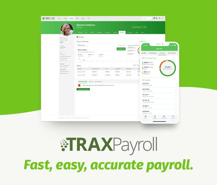 TRAXPayroll mobile image